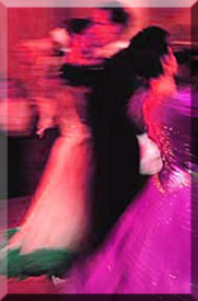 Couple dancing at the Imperial Ball